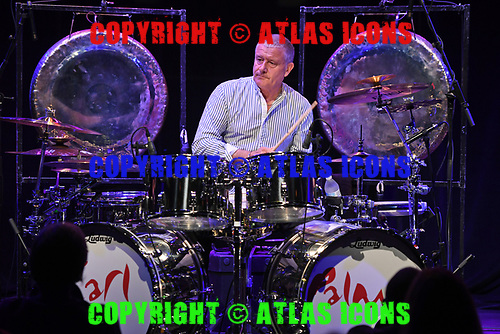 DELRAY BEACH FL - MAY 06: Carl Palmer performs at Arts Garage on May 6, 2017 in Delray Beach, Florida. Photo by Larry Marano © 2017