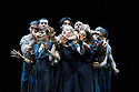 London, UK. 18.02.2014. Circa and the Debussy String Quartet present OPUS at the Barbican. Photograph © Jane Hobson.