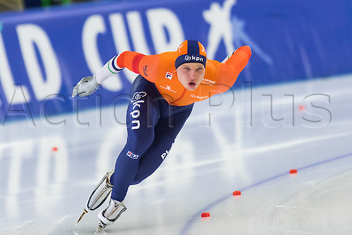 January 29th 2017, Sportforum, Berlin, Germany; ISU Speed Skating World Cup;  ISU Speed Skating World Cup 1000m Division A; Pim Schipper (NED)