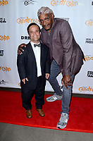"""LOS ANGELES - SEP 17:  Pancho Moler, Tony Todd at the """"Candy Corn"""" Hollywood Premiere at the TCL Chinese 6 Theater on September 17, 2019 in Los Angeles, CA"""