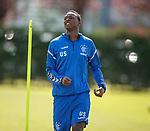 10.08.18 Rangers training: Umar Sadiq