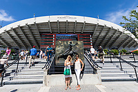 Paris, France, 27 May, 2018, Tennis, French Open, Roland Garros, court Suzanne Lenglen,<br /> Photo: Henk Koster/tennisimages.com