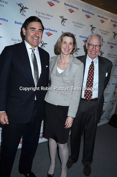 Co-Chairs Peter Brant, Sallie Krawcheck and Arie Kopelman