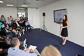 Lisa Halpern, Kiboo, Startup Pitch Stage.  Wired Money fintech event, Level39, Canary Wharf.