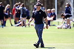 CARY, NC - APRIL 01: Wake Forest head coach Tony da Luz. The NWSL's North Carolina Courage played a preseason game against the Wake Forest Demon Deacons on April 1, 2017, at WakeMed Soccer Park Field 3 in Cary, NC. The Courage won the match 3-0.