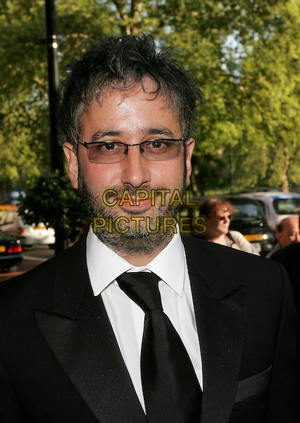 DAVID BADDEIL.Attending the Sony Radio Academy Awards, Grosvenor House Hotel, London, England, April 30th 2007..portrait headshot baddiel beard glasses.CAP/AH.©Adam Houghton/Capital Pictures.