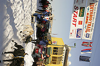 March 3, 2007  Hans Gatt during the Iditarod ceremonial start day in Anchorage