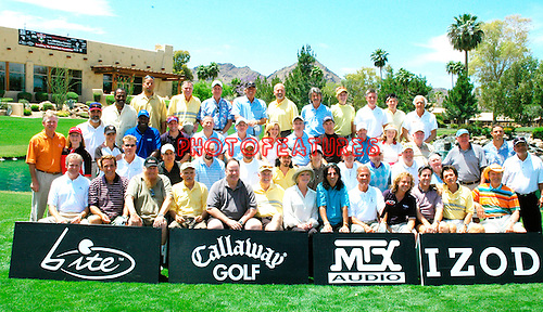 All celebrities at the 9th Alice Cooper Golf Tournament in Scottsdale to benefit his Solid Rock Foundation Charity, May 2nd 2005. phoo by Chris walter/Photofeatures.