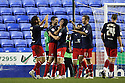 Stevenage players celebrate victory.Reading v Stevenage - FA Cup 3rd Round - Madejski Stadium,.Reading - 7th January, 2012.© Kevin Coleman 2012