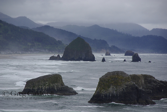 Oregon, North Coast, Seastacks
