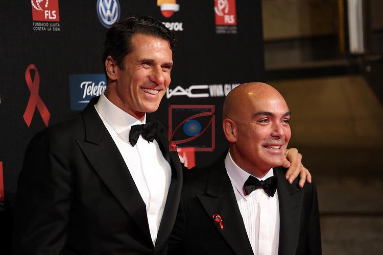 4th Annual Gala SIDA Barcelona 2013.<br /> Kike Sarasola &amp; Carlos Marrero.