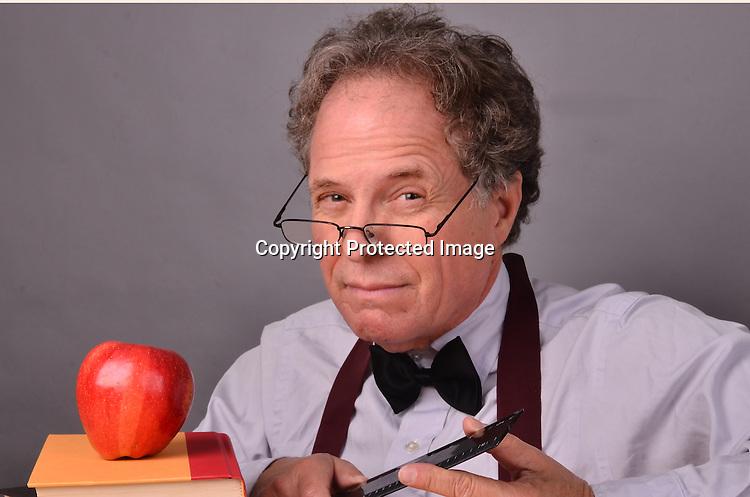 Stock photo of a mature teacher