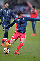 Jonathan Smith of Stevenage during Stevenage vs Reading, Emirates FA Cup Football at the Lamex Stadium on 6th January 2018