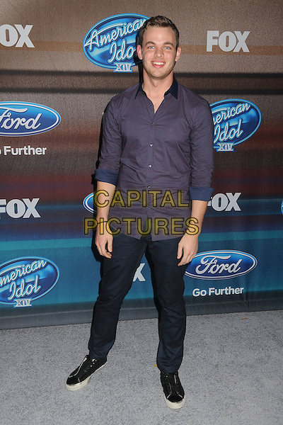 11 March 2015 - West Hollywood, California - Clark Beckham. American Idol Season 14 Finalists Party held at The District. <br /> CAP/ADM/BP<br /> &copy;BP/ADM/Capital Pictures