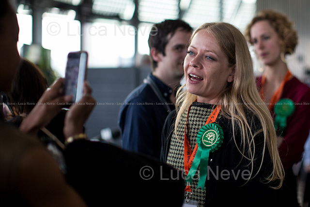 Si&acirc;n Berry (Green Party of England and Wales London Mayor Candidate).<br />