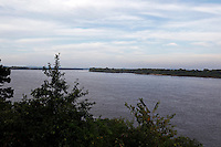 View of the Mississippi River from Cape Rock Park in Cape Girardeau, Missouri on Thursday, September 2, 2010.