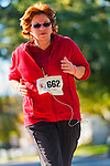 Oct. 21, 2012 - Merrick, New York, U.S. - Runners pass the 3 mile mark of the 5th Annual Blazing Trails for Autism 4 Mile Run for charity. All net proceeds are dedicated to the non-profit Eden II and Genesis Foundation, which supports children and adults with autism. The Greater Long Island Running Club adminsters the run, which travels through North Bellmore and North Merrick, and the Run is sanctioned, and Course is certified, by USA Track & Field.