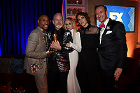BEVERLY HILLS - JANUARY 6: (L-R) Billy Porter, Ryan Murphy, Judith Light, Cody Fern and Adam Porter Smith attend the 2019 Fox Nominee Party for the 76th Annual Golden Globe Awards at the Fox Terrace on the Roof Deck of the Beverly Hilton on January 6, 2019, in Beverly Hills, California. (Photo by Frank Micelotta/Fox/PictureGroup)