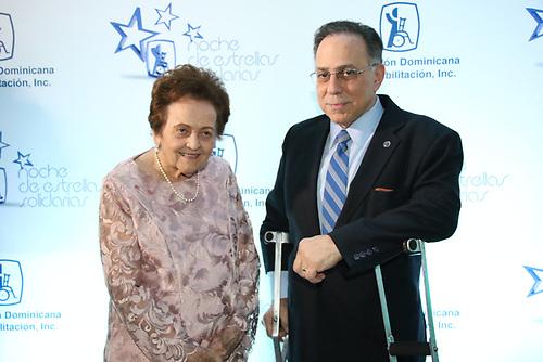 Mary Pérez y Celso Marranzini.