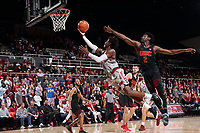 Stanford Basketball M vs USC, January 7, 2018