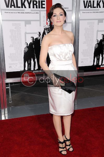 Carice van Houten <br /> at the Los Angeles Premiere of 'Valkyrie'. The Directors Guild of America, Los Angeles, CA. 12-18-08<br /> Dave Edwards/DailyCeleb.com 818-249-4998