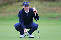 Richard McEvoy (ENG) on the 13th green during Round 4 of the Sky Sports British Masters at Walton Heath Golf Club in Tadworth, Surrey, England on Sunday 14th Oct 2018.<br /> Picture:  Thos Caffrey | Golffile