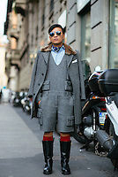 Bryanboy at Milan Fashion Week (Photo by Hunter Abrams/Guest of a Guest)