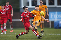 Joe Christou of Hornchurch during Hornchurch vs Merstham, BetVictor League Premier Division Football at Hornchurch Stadium on 15th February 2020