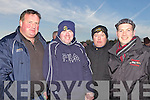 Donnie O'Donnell(Duagh), Enda Murphy(Listowel), John McMahon(Duagh) and Jermiah Roche(Abbeyfeale) pictured at the National Coursing Meeting in Clonmel on Wednesday.