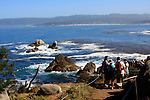 Point Lobos visitors and Carmel Bay