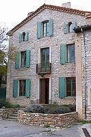Domaine Grand Guilhem. In Cascastel-des-Corbieres. Fitou. Languedoc. The villa. France. Europe.