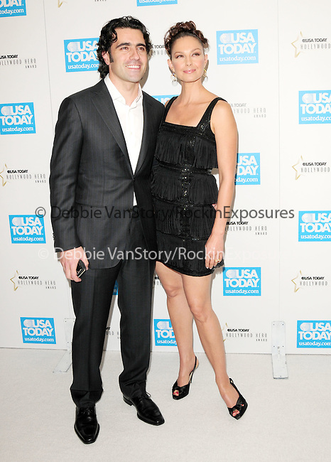 Dario Franchitti & Ashley Judd at The 4th annual USA TODAY Hollywood Hero Award Gala honoring Ashley Judd held at The Montage Beverly Hills in Beverly Hills, California on November 10,2009                                                                   Copyright 2009 DVS / RockinExposures