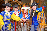 """Pictured at the launch of """"Long John Silver"""", the 49th production by the Killorglin Pantomime Group, which will commence on the 29th January were Irene Kavanagh, John McGeever, Declan Mangan and Finbarr Coffey."""