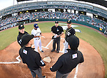 Opening day as the New Orleans Zephyrs play host to the Omaha Stormchasers. Omaha rallied to down New Orleans, 10-6.