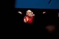 Tibet's exiled spiritual leader the Dalai Lama during a news conference in Rome November 18, 2009.