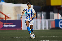 Fern Whelan of Brighton & Hove Albion Women during Brighton & Hove Albion Women vs Manchester United Women, SSE Women's FA Cup Football at Broadfield Stadium on 3rd February 2019