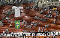 SÃO PAULO, SP,18 JANEIRO 2012 - JOGO AMISTOSO - CORINTHIANS X PORTUGUESA - durante partida Corinthians x Portuguesa realizada no Estádio Paulo Machado de Carvalho ( Pacaembu ) na noite deste quarta feira  (18).(FOTO: ALE VIANNA - NEWS FREE).