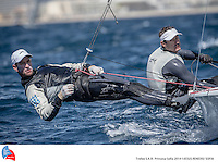 45 TROFEO S.A.R. PRINCESA SOFIA. Palma de Mallorca, Spain. Training session  March 234th