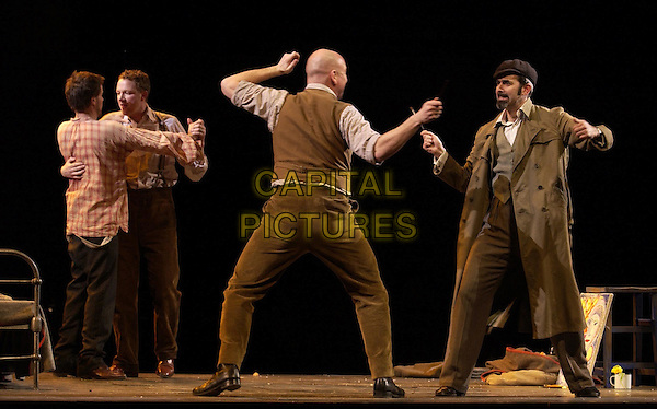 "GRANT DOYLE, PETER WEDD, WYN PENCARREG & DEAN ROBINSON..""La Boheme"" at the Royal Albert Hall..London 25 February 2004..www.capitalpictures.com..sales@capitalpictures.com..©Capital Pictures"