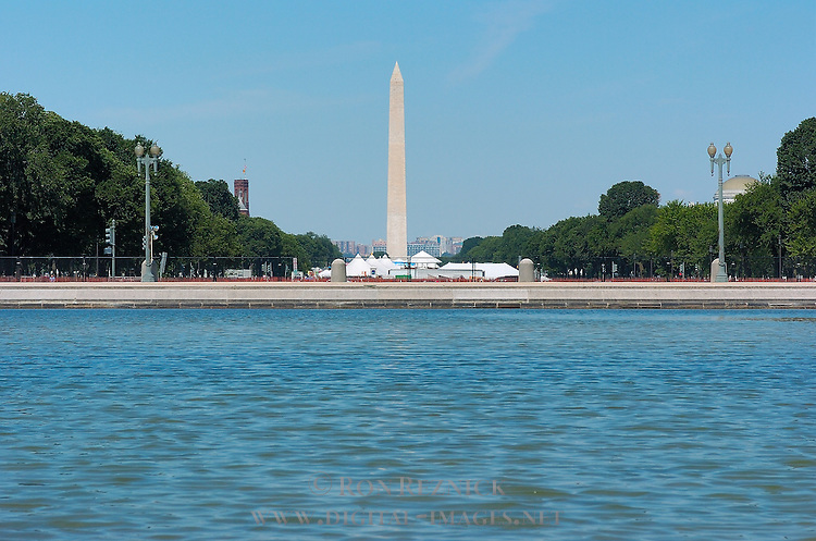 Washington Monument, Capitol Reflecting Pool, National Mall, Washington DC