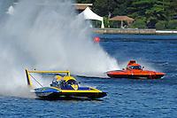 "Kevin Eacret, GP-55 , and Bert Henderson, GP-79 ""Bad Influence"" (Grand Prix Hydroplane(s)"