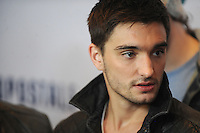 NEW YORK, NY - DECEMBER 07: Tom Parker of The Wanted at Z100's Jingle Ball 2012, presented by Aeropostale, at Madison Square Garden on December 7, 2012 in New York City. NortePhoto