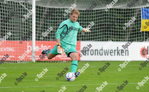 2014-09-07 / Voetbal / seizoen 2014-2015 / De Kempen - Mariekerke / Cliff Mardulier<br /><br />Foto: Mpics.be