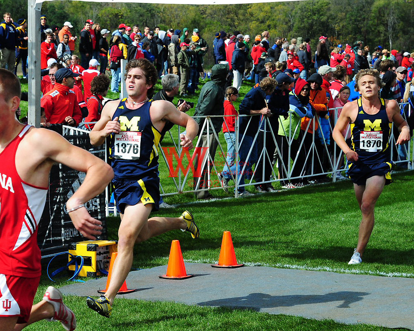 October 2nd, 2010. University of Michigan Cross Country Teams compete in the Adidas Cross Country Invitational.