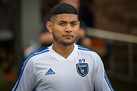 San Jose, CA - Tuesday June 11, 2019: Kevin Partida #89 before the US Open Cup match between the San Jose Earthquakes and Sacramento Republic FC at Avaya Stadium.