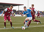 Lee Wallace on the attack