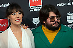 MADRID, SPAIN - JANUARY 16: Actress Belen Cuesta and Brays Efe attend Feroz awards 2020 red carpet at Teatro Auditorio Ciudad de Alcobendas on January 16, 2020 in Madrid, Spain.<br /> (David Jar / Alterphotos)