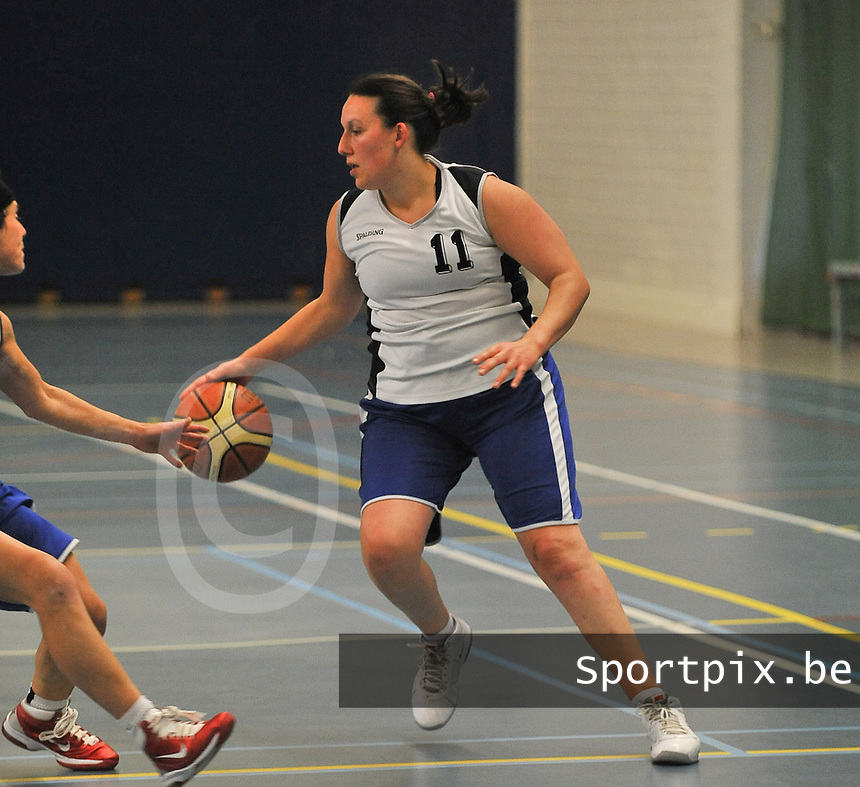 Blue Stars Brugge Dames : Anneleen Waelkens<br /> foto VDB / Bart Vandenbroucke