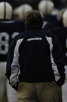 20 November 2004:  Joe Paterno..Penn State defeated Michigan State 37-13 November 20, 2004 at Beaver Stadium in State College, PA....