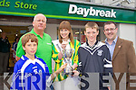 Pictured at the launch of the Rose of Tralee GAA blitz were Rory O'Connor, James O'Donoghue, Oaklands Daybreak, Si?le Ni? Dheargain, Kerry Rose, David McCarthy and John Drummey.